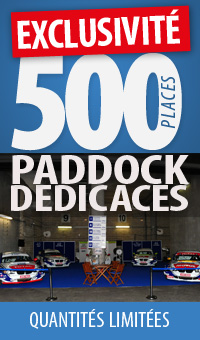 500 places PADDOCK DEDICACE